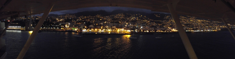 Night lights in Funchal